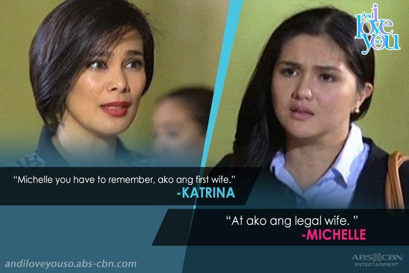 Michelle vs Katrina in And I Love You So