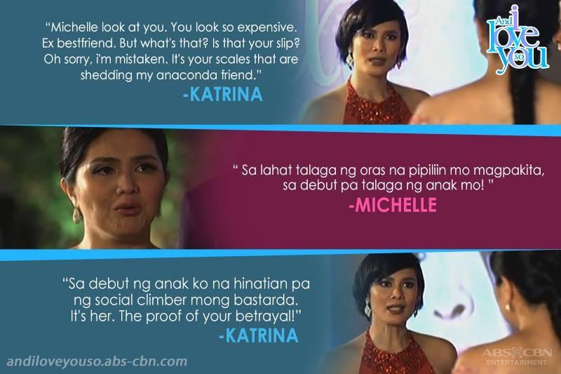 Michelle vs Katrina in And I Love You So