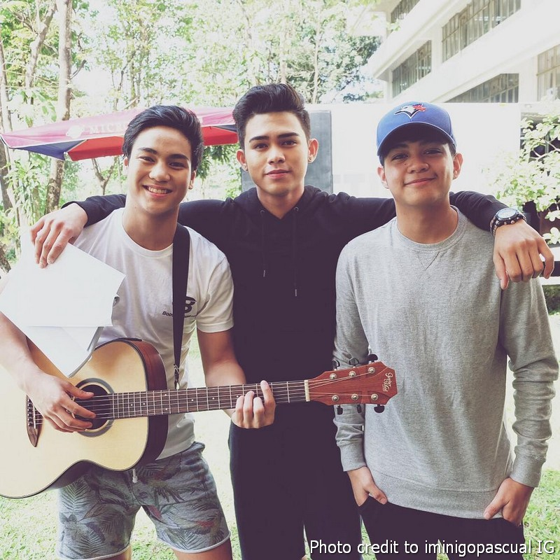 LOOK: And I Love You So's crushes ng bayan Inigo, Kenzo and Francis