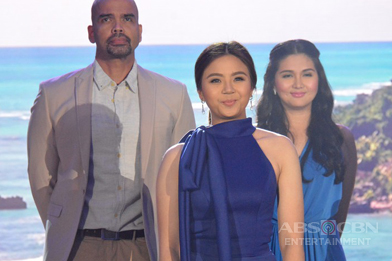 PHOTOS: Julia Barretto and Miles Ocampo looking so lovely and gorgeous at the ABS-CBN Trade Event