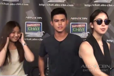 WATCH:  Miles, Julia, Inigo perform 'Sorry' for Kapamilya Chat fans Thumbnail
